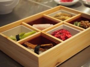 寿司レッスン重箱